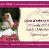 Wedding Open Day 28 and 29 March 2015